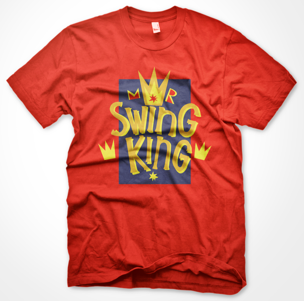 GNAGS - SWING KING TEE - RØD