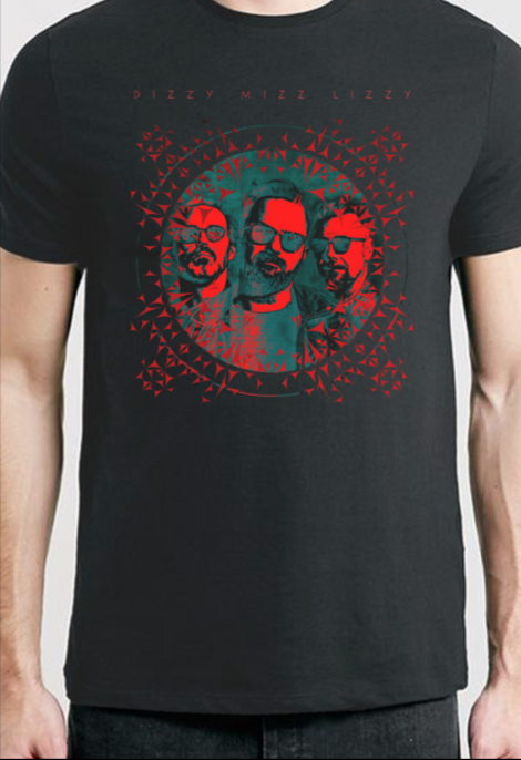 DIZZY MIZZ LIZZY - DIZZY ALL RED TEE - SORT