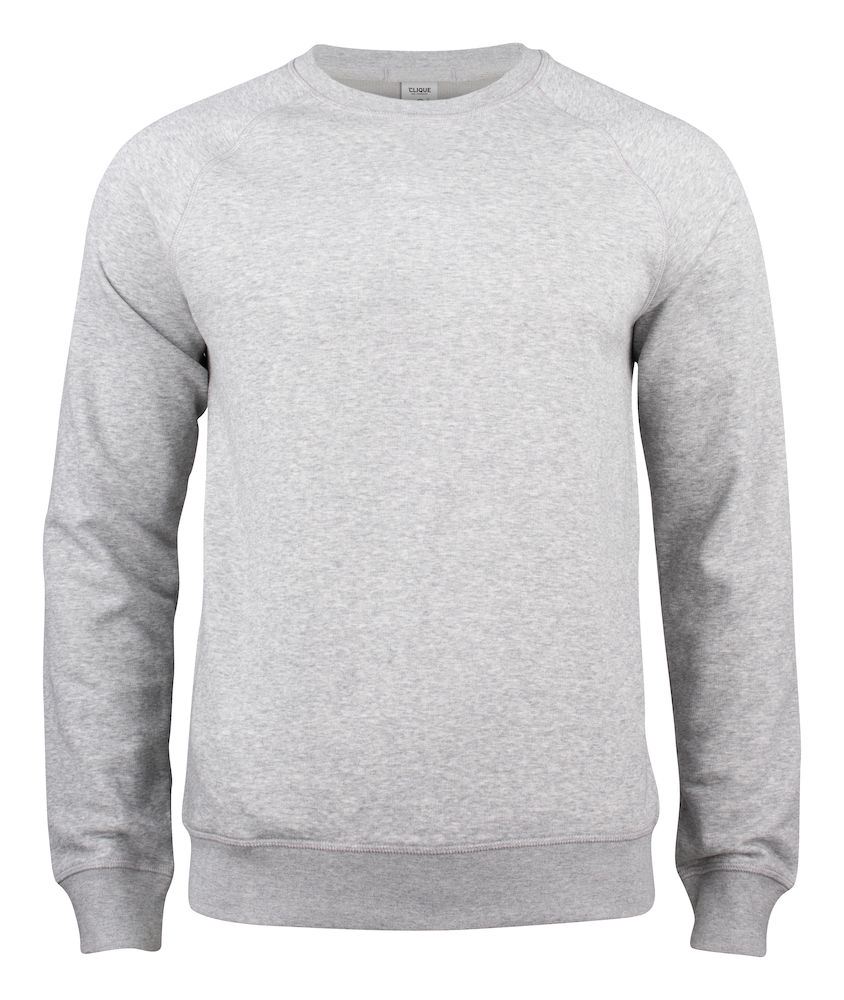 JAMES -  BLANK GREY SWEAT SHIRT.
