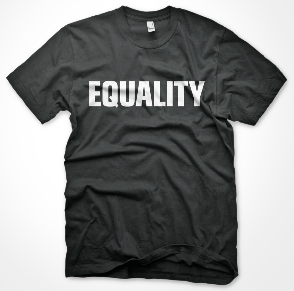 BY JAMES - EQUALITY T-SHIRT