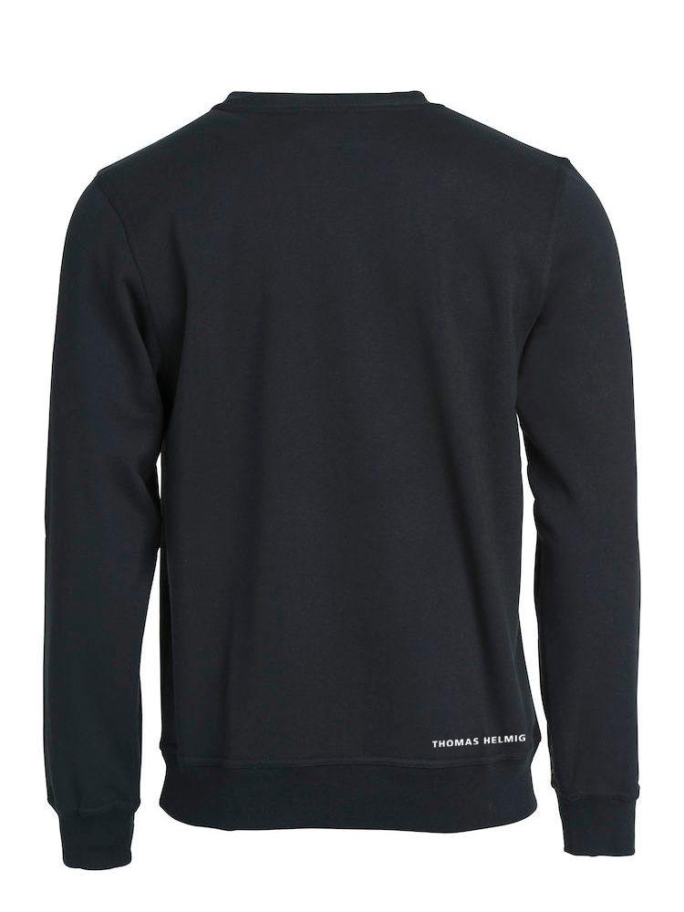 THOMAS HELMIG -  SWEATSHIRT - SORT