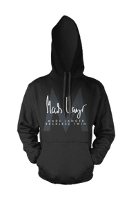 MADS LANGER - RECKLESS TWIN HOODIE - SORT