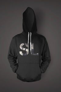 SHAKA LOVELESS - COVER HOODIE - SORT
