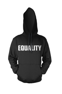 BY JAMES -  EQUALITY- HOODIE (BLACK)