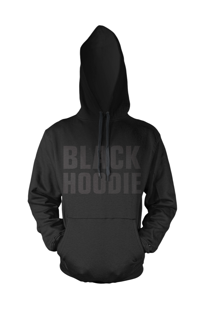BY JAMES  -  BLACK HOODIE