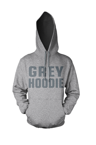 BY JAMES -  GREY HOODIE