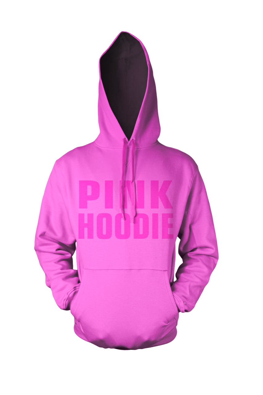 BY JAMES  - PINK HOODIE  (Limited edition)