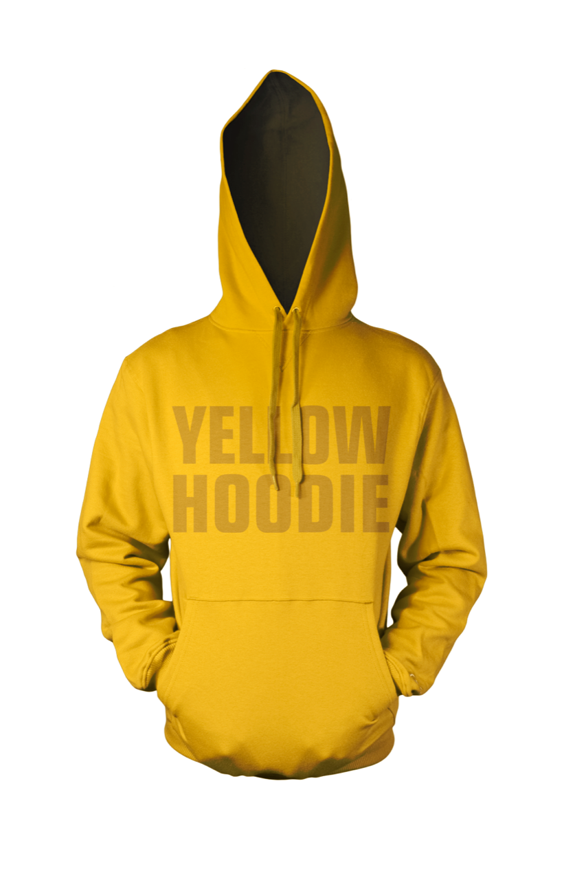 BY JAMES  - YELLOW HOODIE (Limited edition)