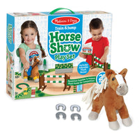 Train & Jump Horse Show Play Set