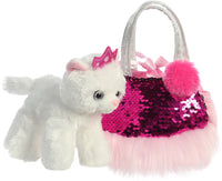 Shimmers Princess Kitty Carrier purse