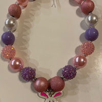 BUNNY LARGE BEAD NECKLACE