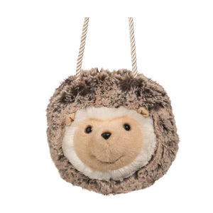 Spunky Hedgehog Fur Fuzzle Crossbody