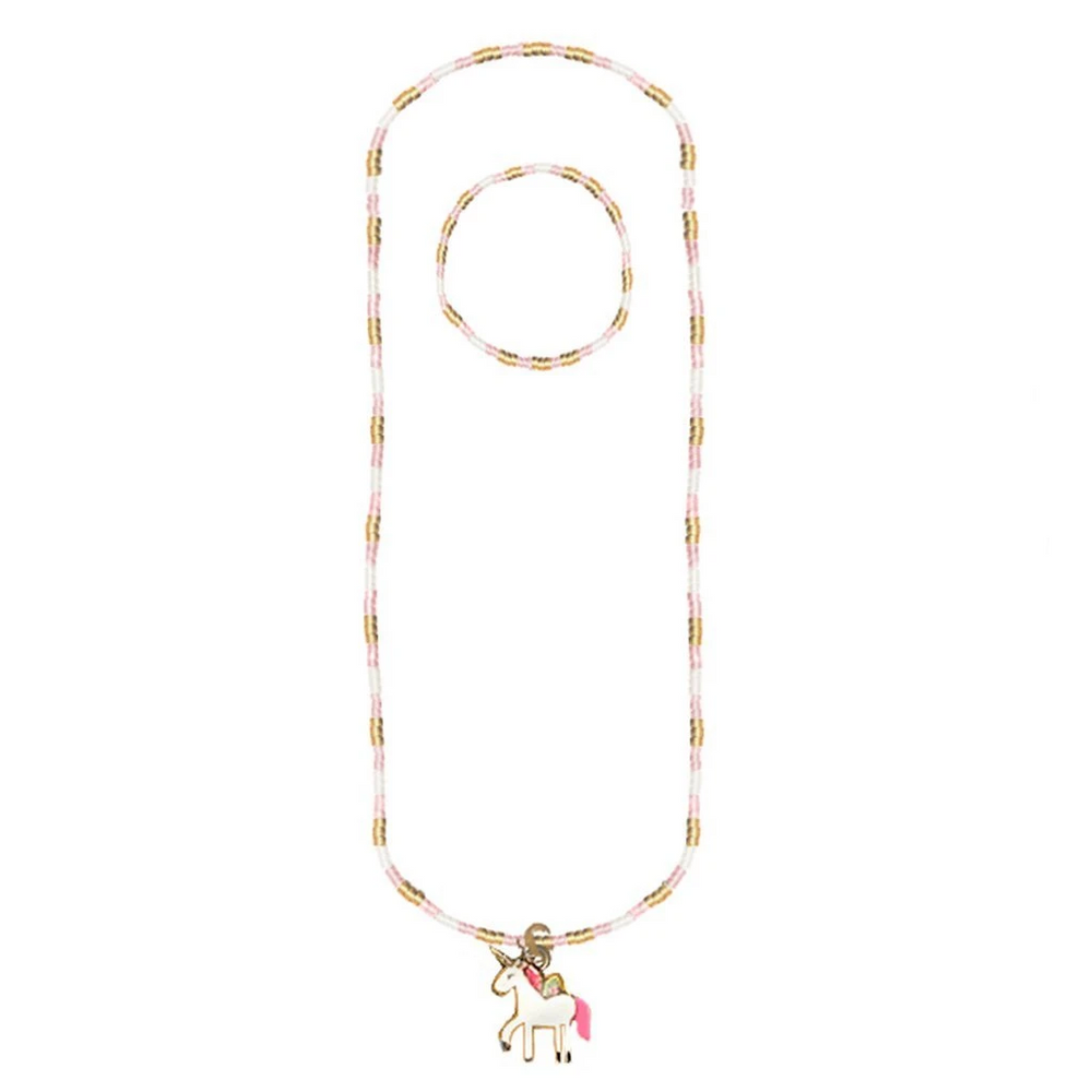 MAGIC UNICORN NECKLACE/BRACELET SET