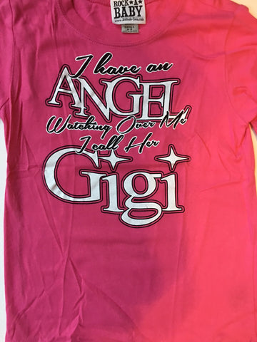 I Have an Angel Watching Over Me I Call Her Gigi t-shirt