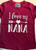 I Love My Nana Shirt