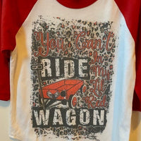 YOU CAN'T RIDE IN MY LITTLE RED WAGON - KIDS