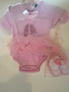 POSH BALLET ONESIE WITH SHOES