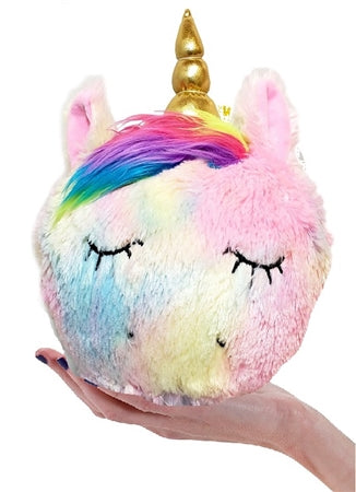XL 10 inches JUMBO -Luv My Squash Buddies UNICORN - Scented Slow-Rise Plush