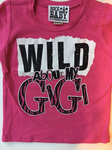 Wild about Gigi t-shirt