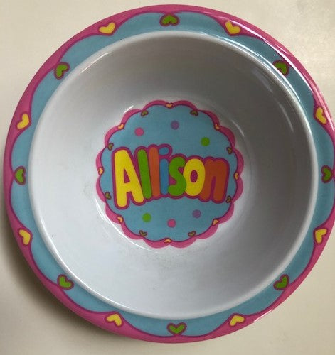Allison Personalized Bowl