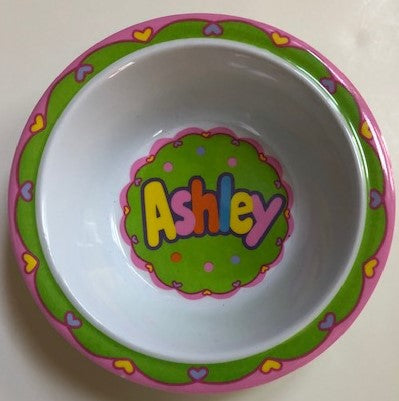 Ashley Personalized Bowl
