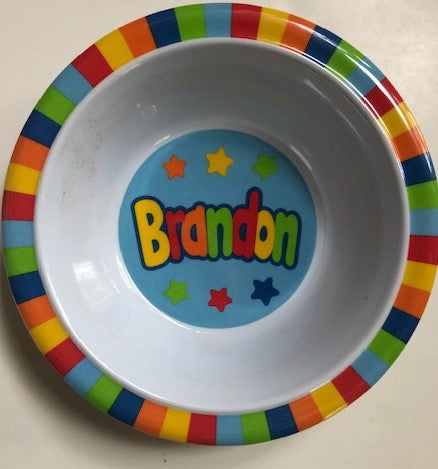 Brandon Personalized Bowl