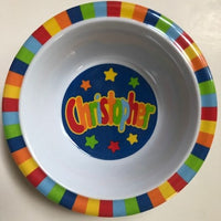 Christopher Personalized Bowl