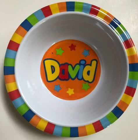 David Personalized Bowl