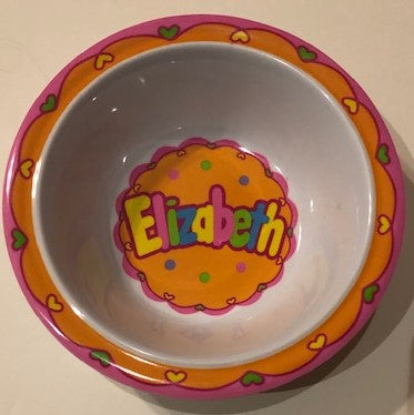 Elizabeth Personalized Bowl