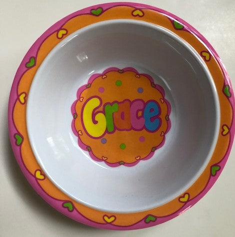 Grace Personalized Bowl