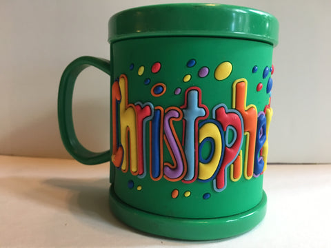 Christopher mug and bowl