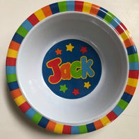 Jack Personalized Bowl