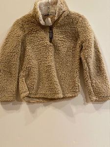TAN FUZZY JACKET