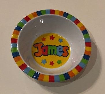 James Personalized Bowl