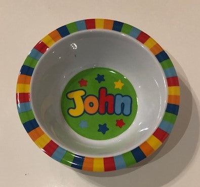 John Personalized Bowl