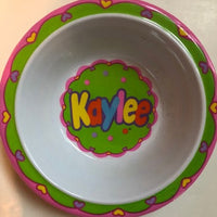 Kaylee Personalized Bowl