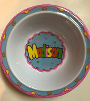 Madison Name Mug and bowl