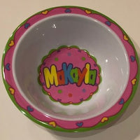 Makayla Personalized Bowl