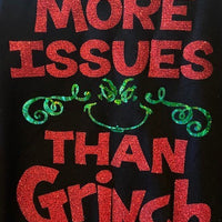 MORE ISSUES THAN GRINCH