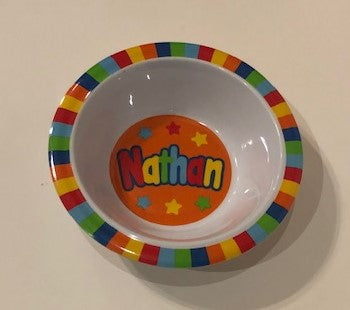 Nathan Personalized Bowl