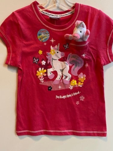 POCKET PALS UNICORN SHIRT