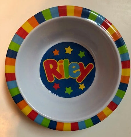 Riley Personalized Bowl