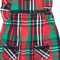 RUFFLE BUTT Kennedy Plaid Jumper Dress
