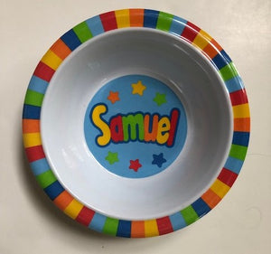 Samuel Personalized Bowl