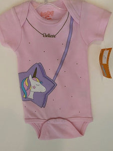 UNICORN BELIEVE ONESIE