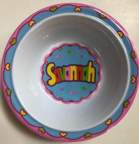 Savannah Personalized Bowl