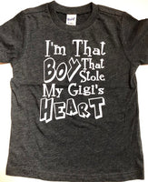 I'm that Boy that Stole My Gigi's Heart shirt