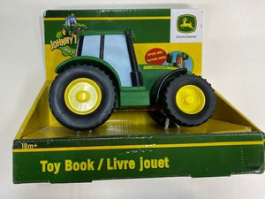 JOHN DEERE VEHICLE TOY BOOK