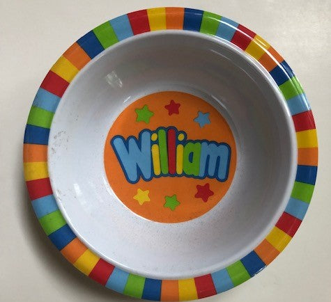 William Personalized Bowl