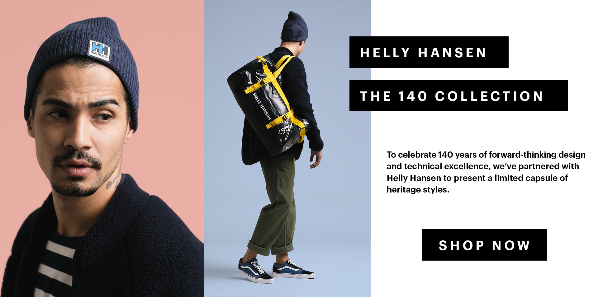 HELLY HANSEN THE 140 COLLECTION